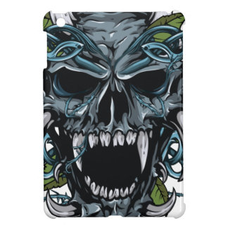 Wellcoda Evil Horror Skull Scary Mask iPad Mini Covers