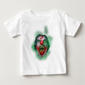 Wellcoda Evil Joker Clown Face Crazy Head Baby T-Shirt
