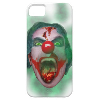 Wellcoda Evil Joker Clown Face Crazy Head iPhone 5 Cover