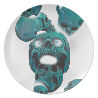 Wellcoda Evil Skull Horror Creepy Face Plate