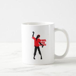 Wellcoda Feel The Music Zombie Headphone Coffee Mug
