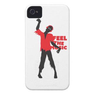 Wellcoda Feel The Music Zombie Headphone iPhone 4 Covers