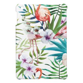 Wellcoda Flamingo Bird Habitat Animal Fun Case For The iPad Mini