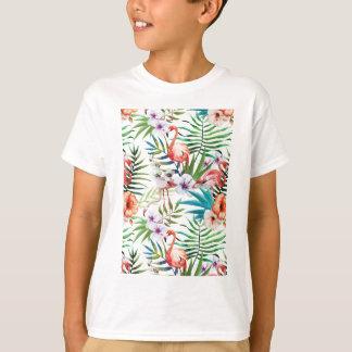 Wellcoda Flamingo Bird Habitat Animal Fun T-Shirt
