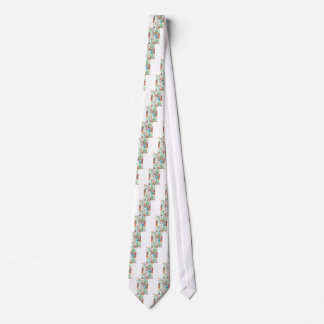 Wellcoda Flamingo Bird Habitat Animal Fun Tie