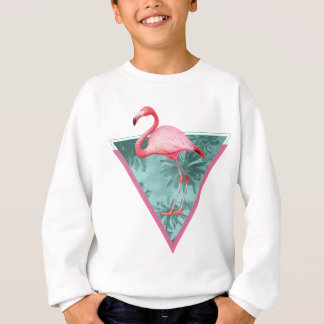 Wellcoda Flamingo Palm Beach Paradise Fun Sweatshirt