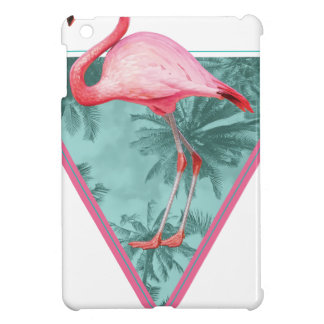 Wellcoda Flamingo Paradise Palm Lake Fun iPad Mini Covers