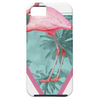 Wellcoda Flamingo Paradise Palm Lake Fun iPhone 5 Covers