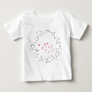 Wellcoda Flock Of Seagull Bird Crazy Print Baby T-Shirt
