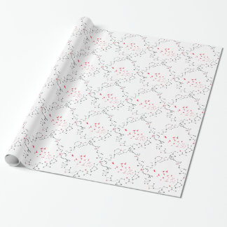 Wellcoda Flock Of Seagull Bird Crazy Print Wrapping Paper
