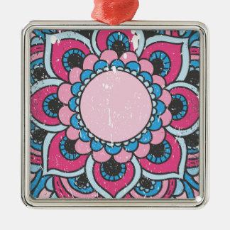 Wellcoda Flower Close Up View Blossom Christmas Ornament