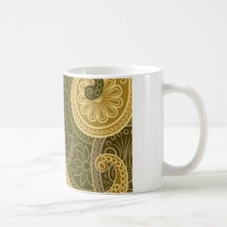 Wellcoda Flower Crazy Print USA Power Life Coffee Mug
