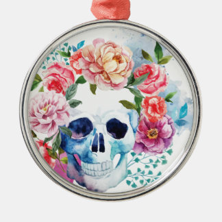 Wellcoda Flower Dead Bed Skull Grave Yard Christmas Ornament