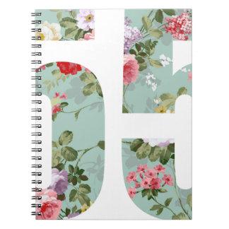 Wellcoda Flower Power 55 Swag Wild Plant Notebook