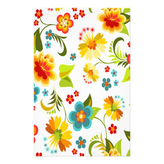 Wellcoda Flower Power Garden Yard Life Fun Stationery