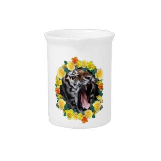 Wellcoda Flower Tiger Wild Cat Nature Law Pitcher