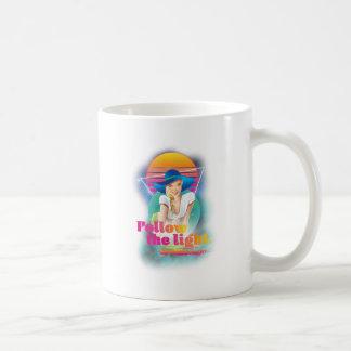 Wellcoda Follow Sun Light 80's Hippy Look Coffee Mug