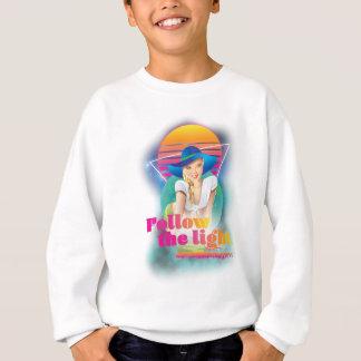 Wellcoda Follow Sun Light 80's Hippy Look Sweatshirt