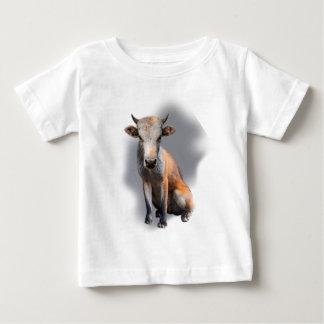 Wellcoda Fox Cow Freak Mutant Fake Animal Baby T-Shirt