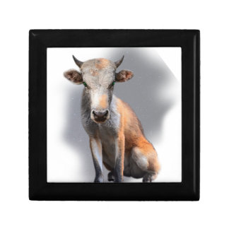 Wellcoda Fox Cow Freak Mutant Fake Animal Gift Box