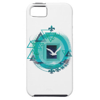 Wellcoda Freedom Galaxy Bird Fly Universe Tough iPhone 5 Case