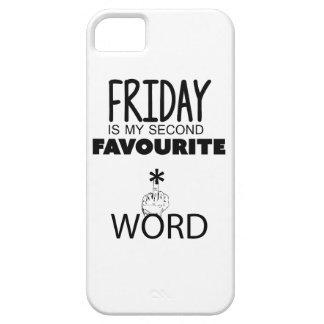 Wellcoda Friday Second Word TGIF Crazy iPhone 5 Cases