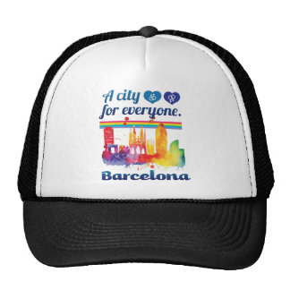 Wellcoda Friendly Barcelona Spain City Cap
