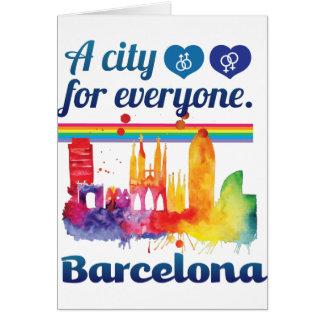 Wellcoda Friendly Barcelona Spain City Card