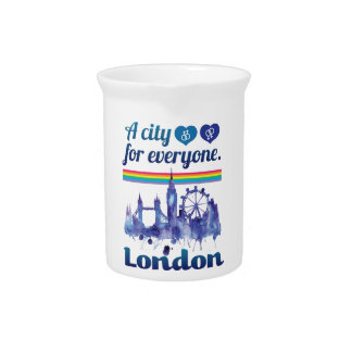 Wellcoda Friendly London City UK GB Love Pitcher