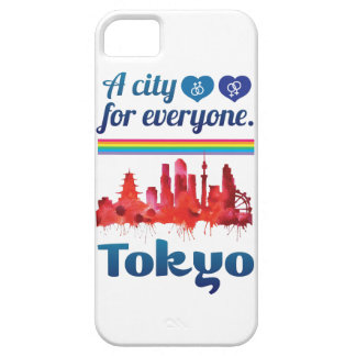 Wellcoda Friendly Tokyo City Japan Urban iPhone 5 Cover