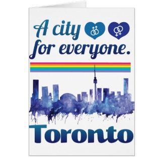 Wellcoda Friendly Toronto City Tolerance Card