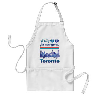Wellcoda Friendly Toronto City Tolerance Standard Apron