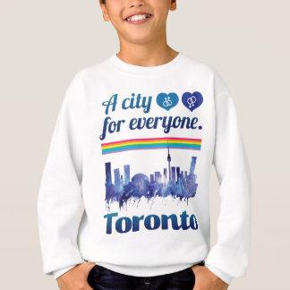 Wellcoda Friendly Toronto City Tolerance Sweatshirt