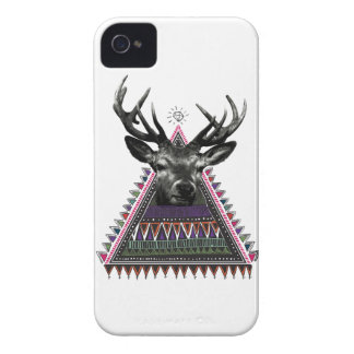Wellcoda Fun Stag Diamond Deer Crazy Life iPhone 4 Cover