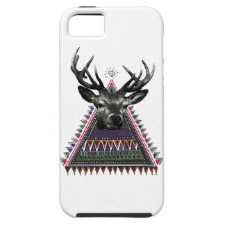 Wellcoda Fun Stag Diamond Deer Crazy Life iPhone 5 Cases