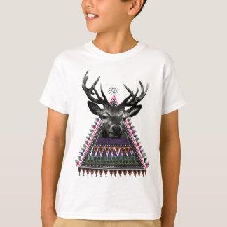 Wellcoda Fun Stag Diamond Deer Crazy Life T-Shirt