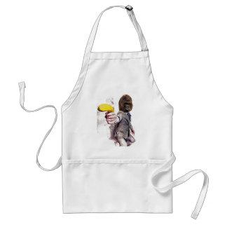 Wellcoda Funny Gorilla Suit Monkey Banana Standard Apron