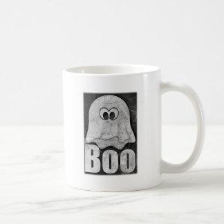 Wellcoda Funny Spooky Ghost Comedy Face Coffee Mug