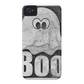 Wellcoda Funny Spooky Ghost Comedy Face iPhone 4 Cover