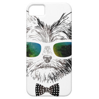 Wellcoda Funny Swag Dog Puppy Cool Pet Barely There iPhone 5 Case