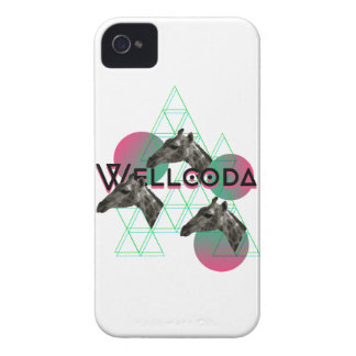 Wellcoda Giraffe Africa Animal Safari Fun iPhone 4 Cases