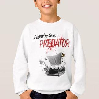 Wellcoda Gold Tooth Predator Scary Mouth Sweatshirt
