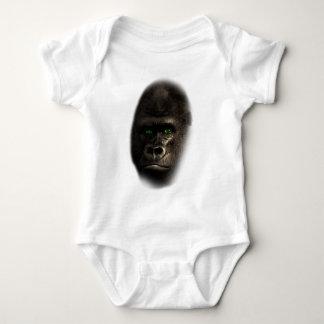 Wellcoda Gorilla Ape Monkey King Jungle Baby Bodysuit