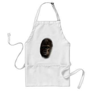 Wellcoda Gorilla Ape Monkey King Jungle Standard Apron