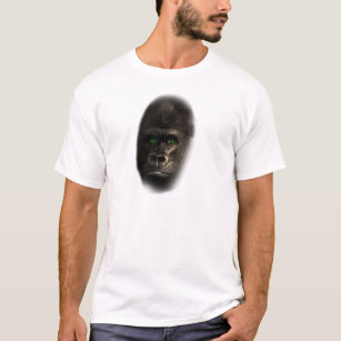 45d1cd51 Gorilla King T-Shirts & Shirt Designs   Zazzle UK