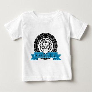 Wellcoda Gorilla Monkey Face Wild Funny Baby T-Shirt