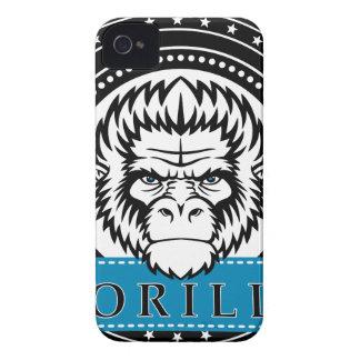 Wellcoda Gorilla Monkey Face Wild Funny iPhone 4 Cover