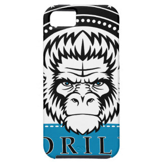 Wellcoda Gorilla Monkey Face Wild Funny iPhone 5 Case