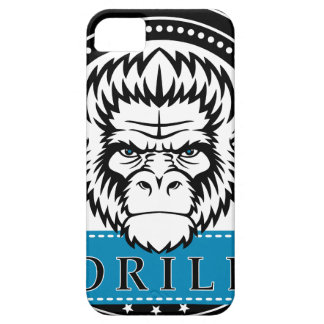 Wellcoda Gorilla Monkey Face Wild Funny iPhone 5 Cases