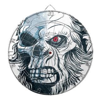 Wellcoda Gorilla Skull Head Monkey Face Dartboard